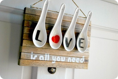 Love Is All You Need Valentines Day Wall Art