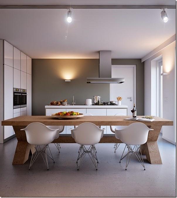 10 soluzioni per la zona pranzo case e interni for Foto di sale da pranzo moderne