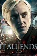 Tom Felton is Draco Malfoy - Harry Potter and the Deathly Hallows part 2