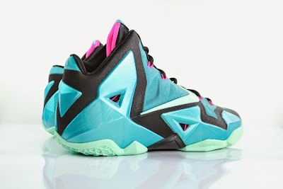 nike lebron 11 gr south beach 5 06 Release Reminder: Nike LeBron 11 South Beach