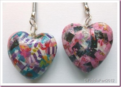 Decopatch heart Keyrings 1