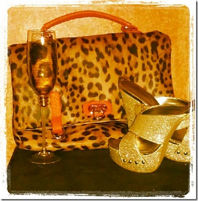 Shoes N Booze Sparkly shoes n bubbly