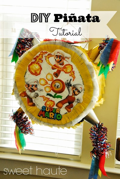 Pinata DIY Tutorial-SWEET HAUTE