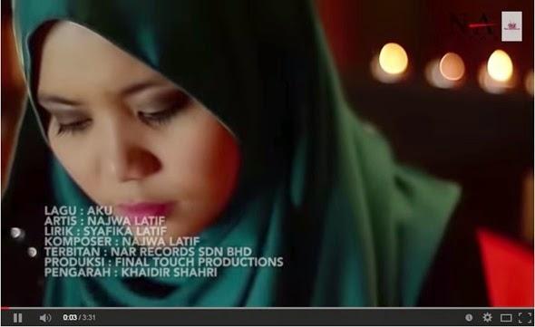 Aku Najwa Latif Lirik Lagu