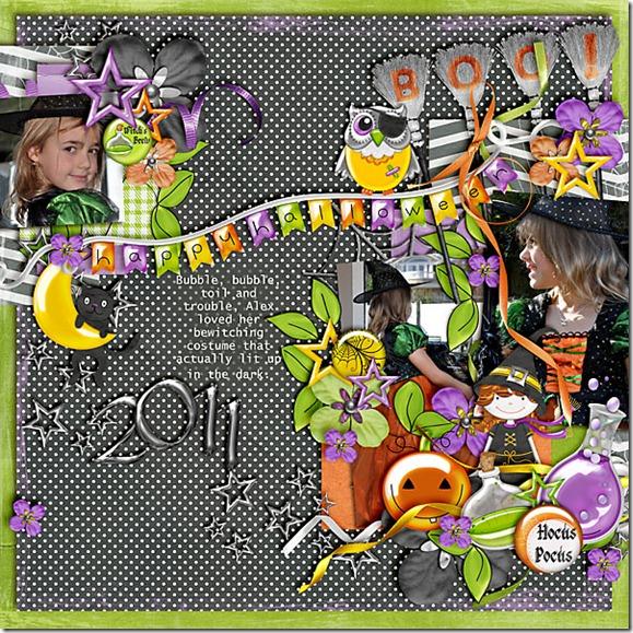 Witch Happy Halloween 2011
