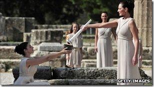 Ritual tocha olímpica