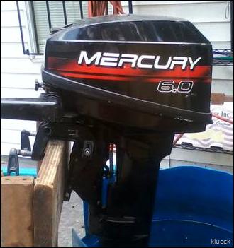 1998 6 hp mercury boat motor
