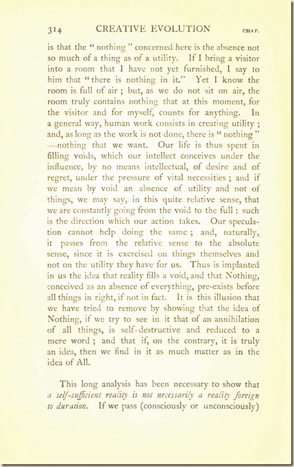 Bergson. Creative Evolution. 1911 creativeevolutio00berguof.test.t_Page_328