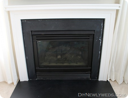 painted-fireplace-mantle