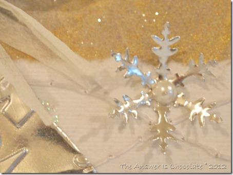Punched Metal Snowflake