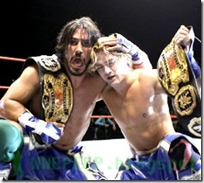 3 Paul London Brian Kendrick