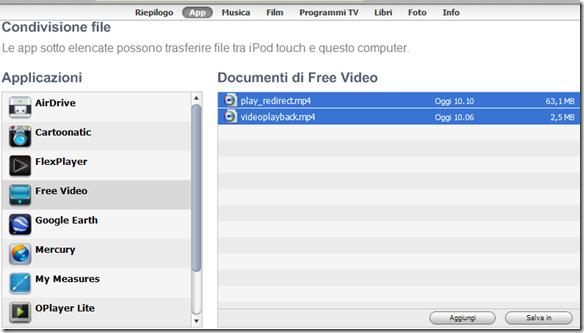 iBolt Downloader Free Video copiare nel PC i video scaricati