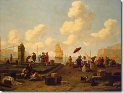 Abraham Jansz. Van Diepenbeeck-Seashore-S