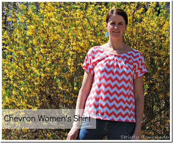 Chevron Womens Shirt 1