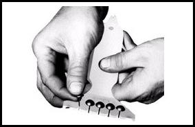 Applying Upholstery Tacks {Sawdust And Embryos}