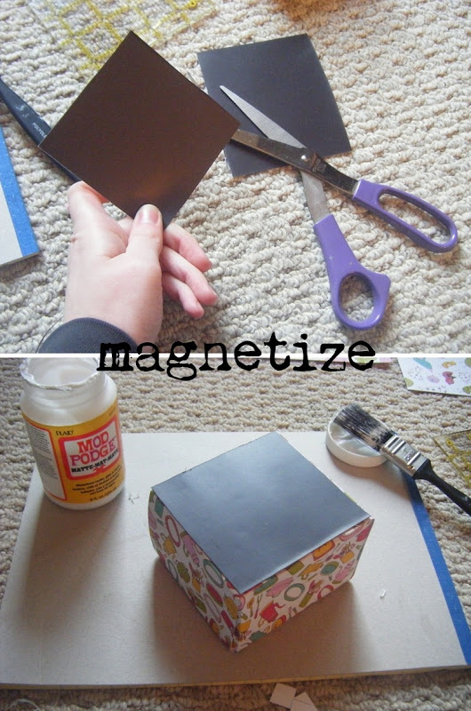 Magnetic Coupon Holder | allonsykimberly.com