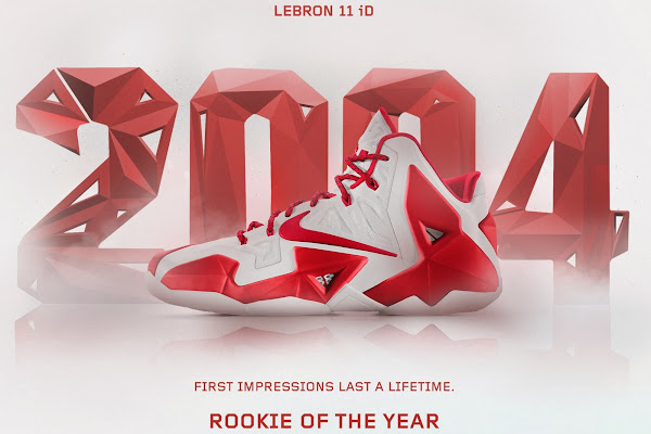 A Decade of Moments  NIKEiD LeBron XI 8220Rookie of the Year8221