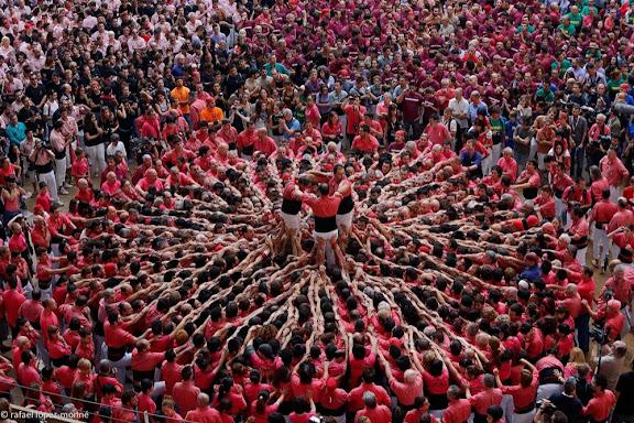 Nou de vuit. Colla Vella de Valls.XXIVè Concurs de Castells de Tarragona. Tarraco Arena Plaça. Tarragona, Tarragonès, Tarragona