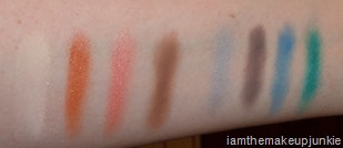 SEPHORA   Pantone Universe Elemental Energy Eye Shadow Palette_swatches 2