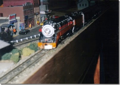 25 LK&R Layout at the Lewis County Mall in January 1998