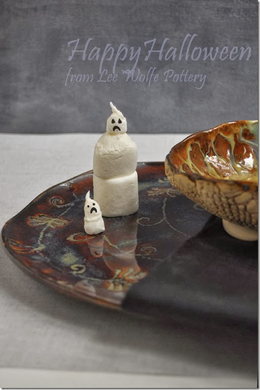 marshmallow ghosts tutorial