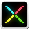 Minimal X Go Launcher Locker icon