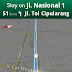 Google Maps dengan Navigation