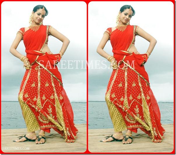 Bhavana_Designer_Half_Sari