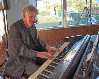 Ian Jackson kindly played the arrival music and then gave a performance in the first half of the program. Ian was using the Club's Clavinova CVP-509. Photo courtesy of Dennis Lyons.