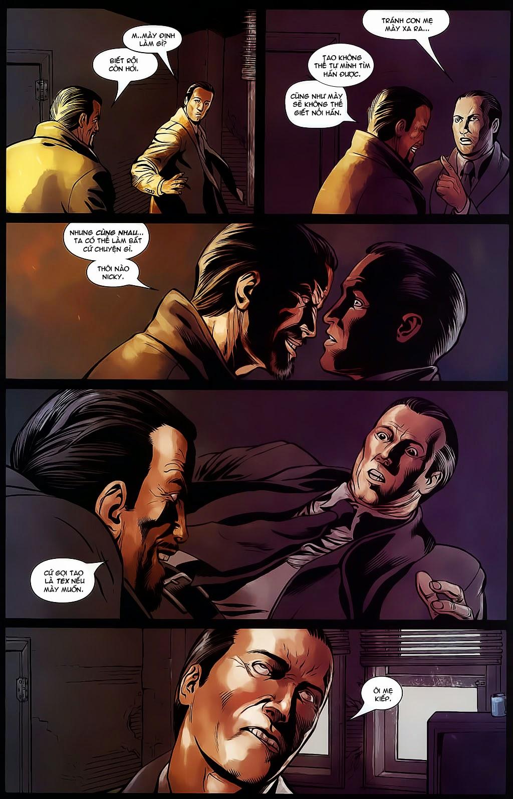 The Punisher: Trên là Dưới & Trắng là Đen chap 4 - Trang 10