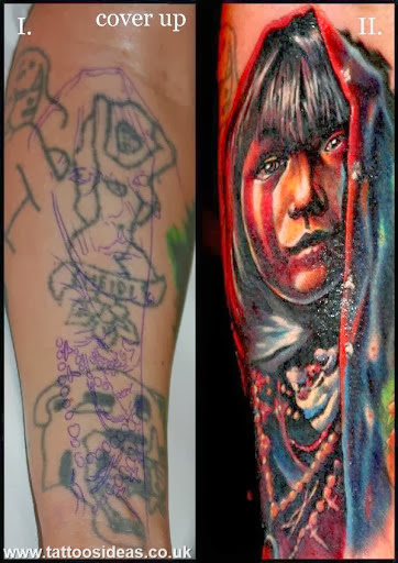 Indian arm cover up cover up tattoos pictures for Tattoo sleeve cover up forearm