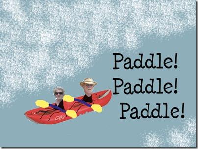 RRKayak Paddle