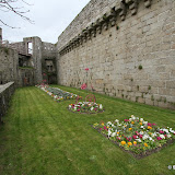 Concarneau / Parterre de fleurs de la ville close