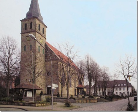 St. Kalixtus Catholic Church in Riesenbeck-Horstel, Germany,  Photo courtesy of Wikipedia.