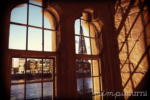 A view of the new from the old. That's the Shard, which will be Europe's tallest building, as seen from the Tower of London.