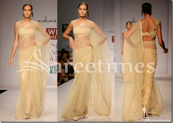 Rabani_and_Rakha_Cream_Net_Saree