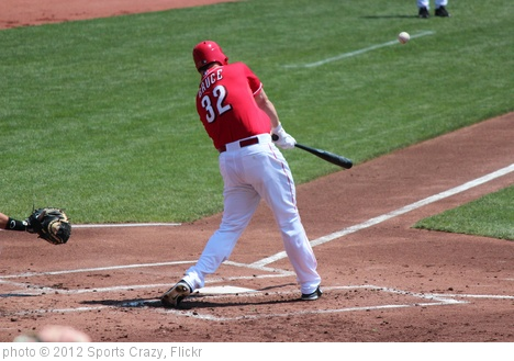 'Jay Bruce' photo (c) 2012, Sports Crazy - license: http://creativecommons.org/licenses/by-sa/2.0/