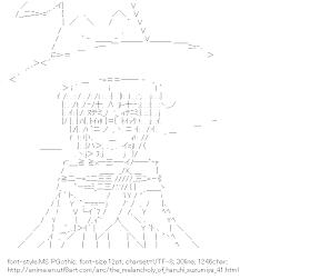 [AA]Nagato Yuki (The-Melancholy-of-Haruhi-Suzumiya)