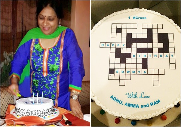 Sowmya-Crossword-Cake