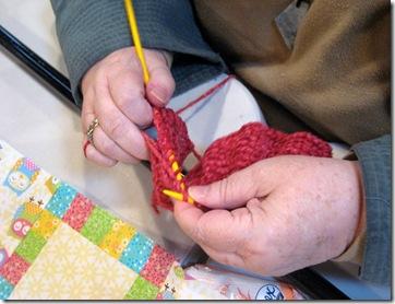 Helen's knitting