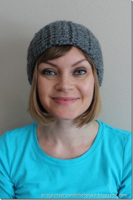 quick and chunky crochet ear warmer pattern