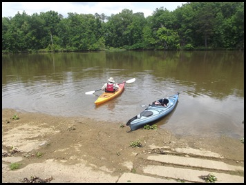 Paddle on Prairie Creek 001