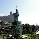 statue of liberty at odaiba in Odaiba, Tokyo, Japan