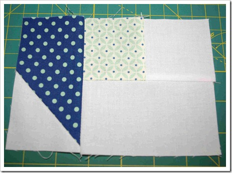 Four Patch Star step 6