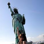 statue of libery and shizuka in Odaiba, Tokyo, Japan