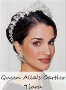 Queen Alia's Cartier Tiara