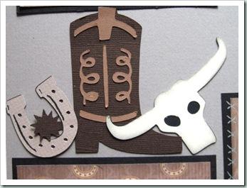 boot skull shoe