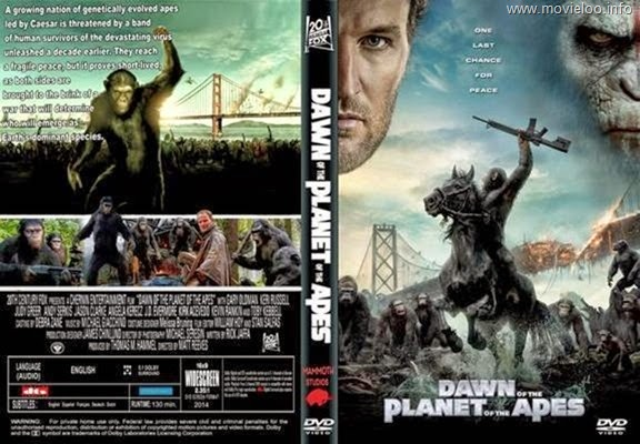 Dawn of the Planet of the Apes (2014) 720p HDTS - 800MB - ShAaNiG