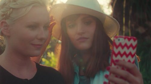Kirsten dunst selfie smartphone short movie5