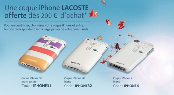 Coque iPhone Lacoste